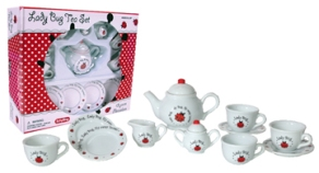 Children's Ladybug Tea Set